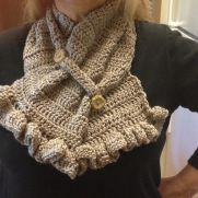 Ruffle Neck Warmer