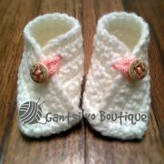 Baby Crossover Booties