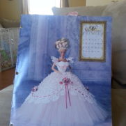 Barbie doll ball gown