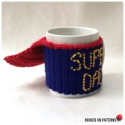 Father's Day Gift Super Dad Mug Cozy