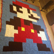 Mario Granny Square Afghan