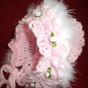 crochet girl hat