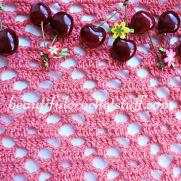 Diamond Crochet Stitch Free Pattern