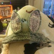 Bunny headband for dogs