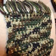 Camo boys scarfs