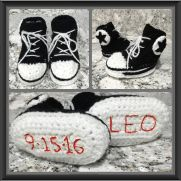 Newborn High Top Slippers
