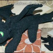 Night Fury Dragon Crochet - How to train your dragon