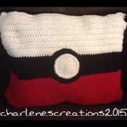 Crochet Pokemon Pillow