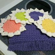 Dish Cloths & Towel Set or Coasters