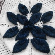 blue sparkle blanket
