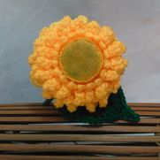 Teddy Bear Sunflower Crochet Pattern