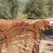Cinnamon Butterfly/Burgundy Butterfly Shawls