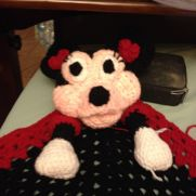 Minnie Mouse lovey or snugggle