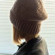 How to crochet a beanie (hat)