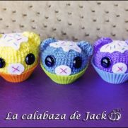 Cupcakes Amigurumis - La Calabaza de Jack
