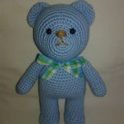 Blue Teddy Set