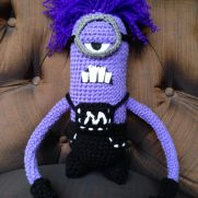 Purple minion from Despicable Me 2