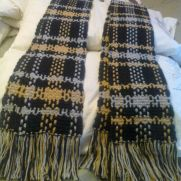 Crochet Plaid Scarves