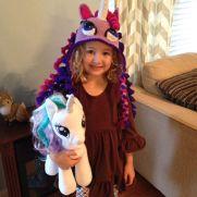 Lizzie's Unicorn Hat