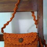v-stitch small purse