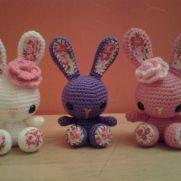 Spring Bunny Gang - Flower, Violet, Spring