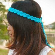 shell stitch headband