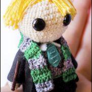 Draco Malfoy Amigurumi - Harry Potter - La Calabaza de Jack