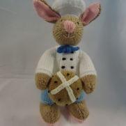 Easter Bunny & Hotcross bun