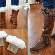 Fur-Top Boot Cuffs