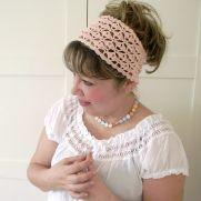 Christy Headband crochet pattern