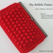 The Bobble frame purse