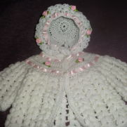 Crochet Matinee Set