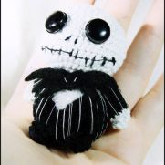 Jack Skellington Amigurumi - Nightmare before christmas - La Calabaza de Jack