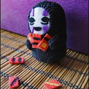 No Face Amigurumi - Spirited Away - La Calabaza de Jack