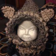 Wolf Cowl Hat