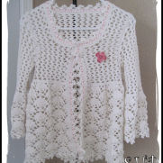 Magnolia Lace Crochet Coat