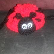 Ladybug child's purse