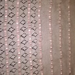 ribbon and lace blanket