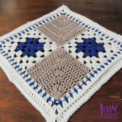 A Unique Granny Square Pattern for Allison – Squares and Miters