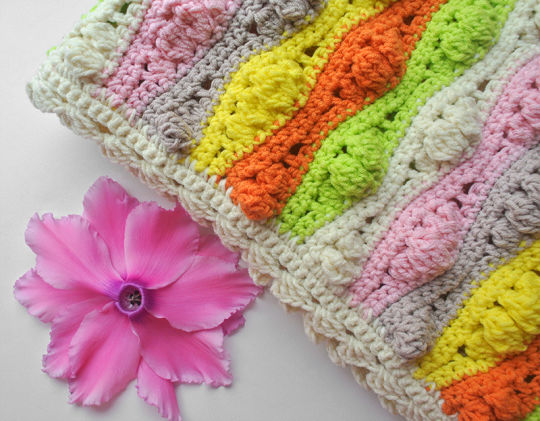 Crochet Wave Blanket Pattern