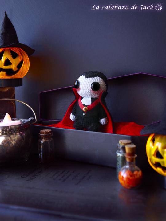 Dracula Amigurumi - La Calabaza de Jack