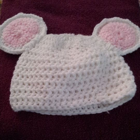 baby mouse beanie