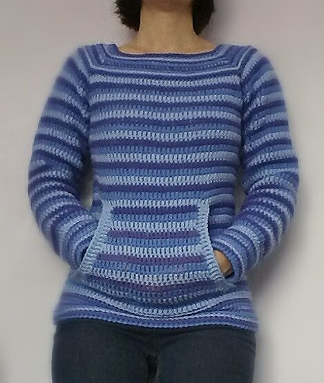 Stripey Seamless Jumper