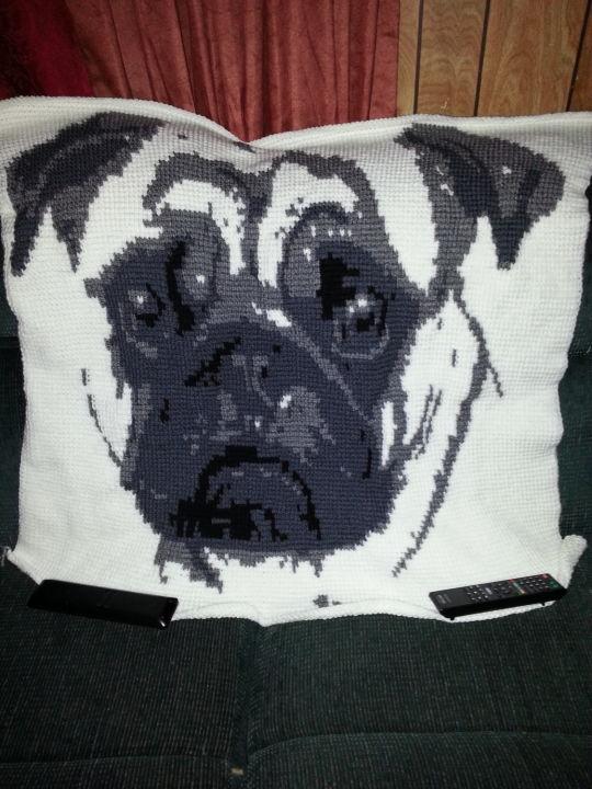 Grand-pug Blanket