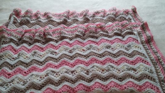 Blanket for baby girl set #3