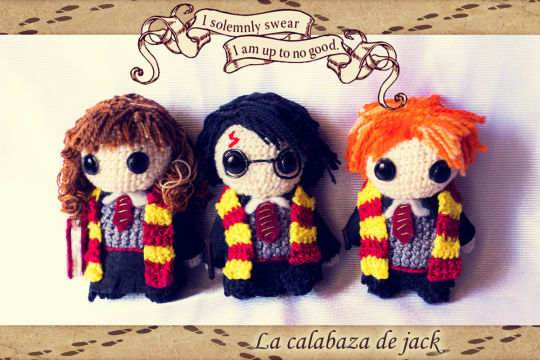 Harry Potter Amigurumis - La Calabaza de Jack