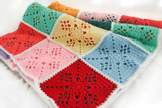 Victorian Lattice Blanket