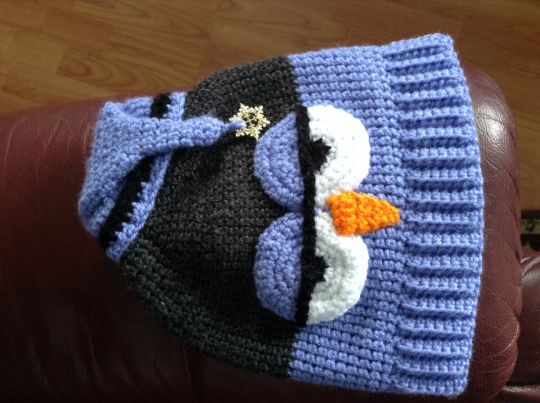 Sleepy Time Owl Hat for cancer