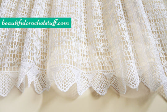 Crochet Curtain Free Pattern