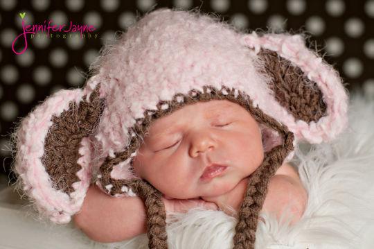 fluffy lamb hat free pattern